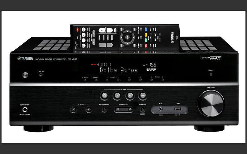Yamaha 7 2 ch network ready 4k ultra hd and 3d pass for Yamaha tv receiver